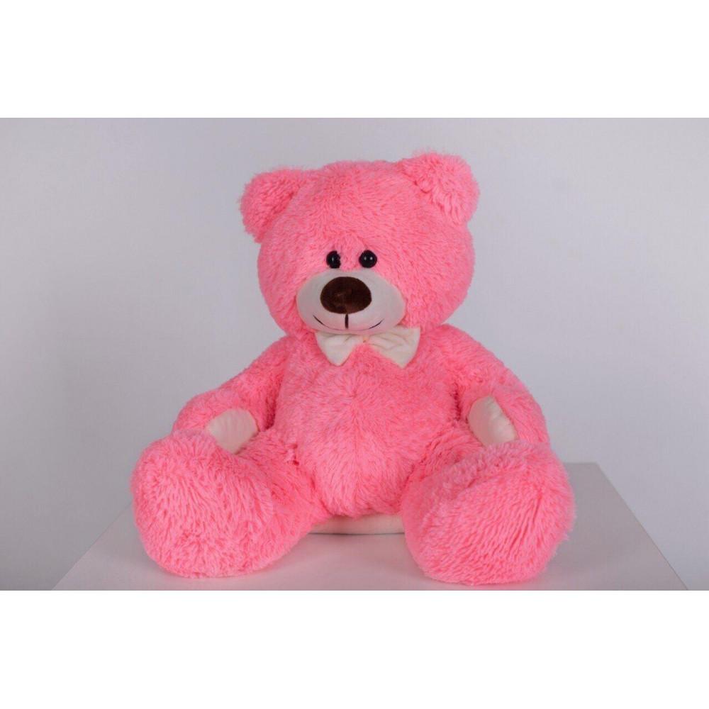 Плюшевый мишка Джеймс 65см Розовый