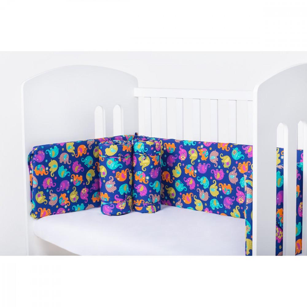 Захисний бортик на ліжечко Індія LC - full