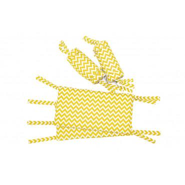 Защитный бортик на кроватку Пинк LC 1/2