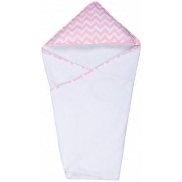Детское полотенце с уголком Пинк LC 95х95 см