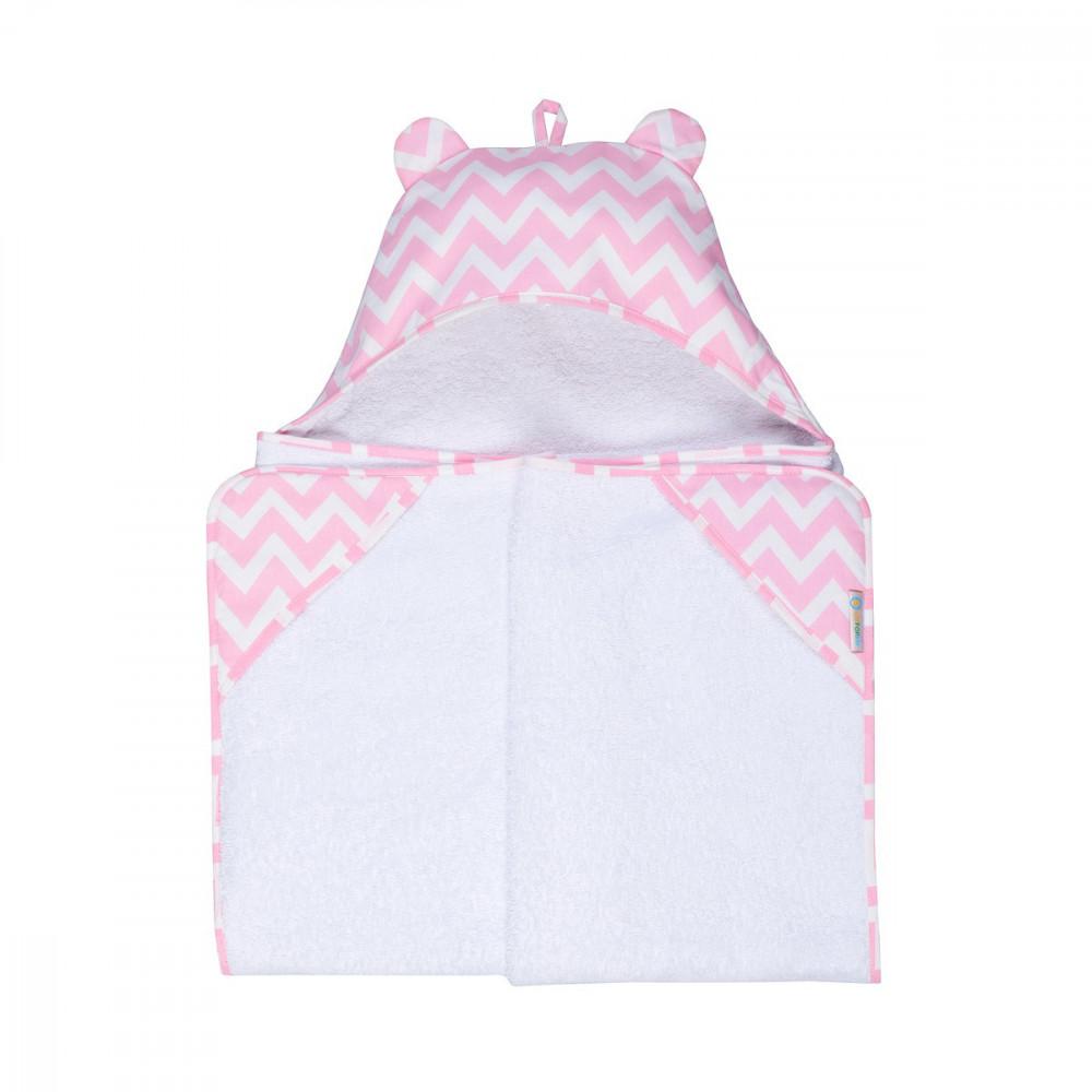 Детское полотенце Мишка Пинк LC 70х140 см