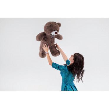 Плюшевый медведь Джимми 90см Капучино