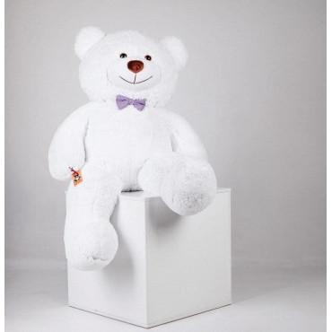Большой плюшевый медведь Джеральд 165см Белый