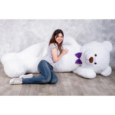 Огромный мягкий мишка Уильям 250см Белый