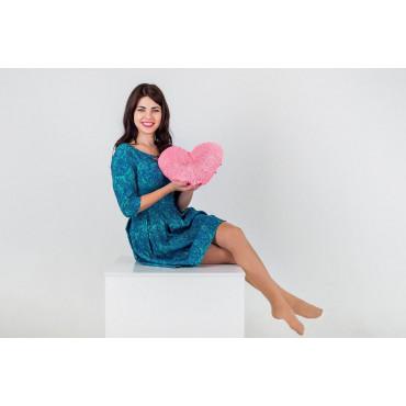 """Мягкая игрушка подушка """"Сердце"""" 30см Розовая"""