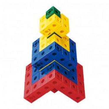 Обучающий набор Gigo Объемные фигуры из кубиков, 2см