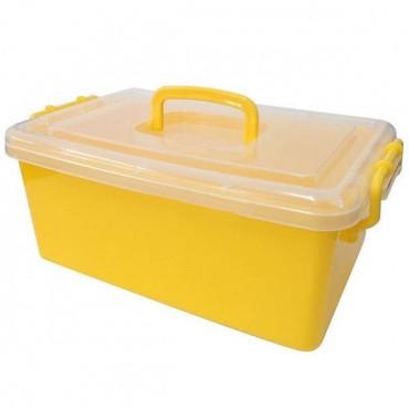 Контейнер пластиковый большой Gigo (желтый)