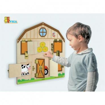 Бизиборд Viga Toys Домик на ферме