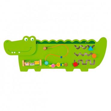 Бизиборд Viga Toys Крокодильчик