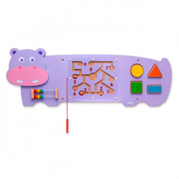 Бизиборд Viga Toys Бегемотик