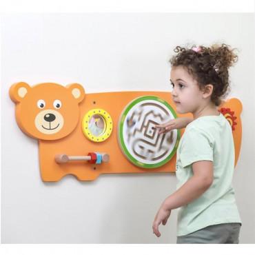 Бизиборд Viga Toys Медвежонок