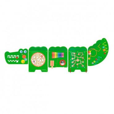 Бизиборд Viga Toys Крокодил, 5 секций R