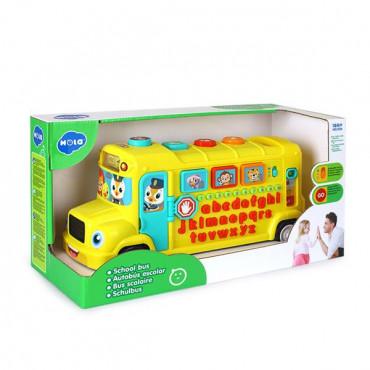 Музична розвиваюча іграшка Hola Toys Шкільний автобус R