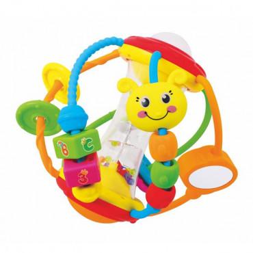 Погремушка Hola Toys Веселый мячик