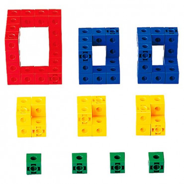 Обучающий набор Gigo Объемные фигуры из кубиков, 2см R