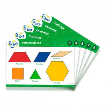Геометрическая мозаика Gigo с карточками 250 эл.