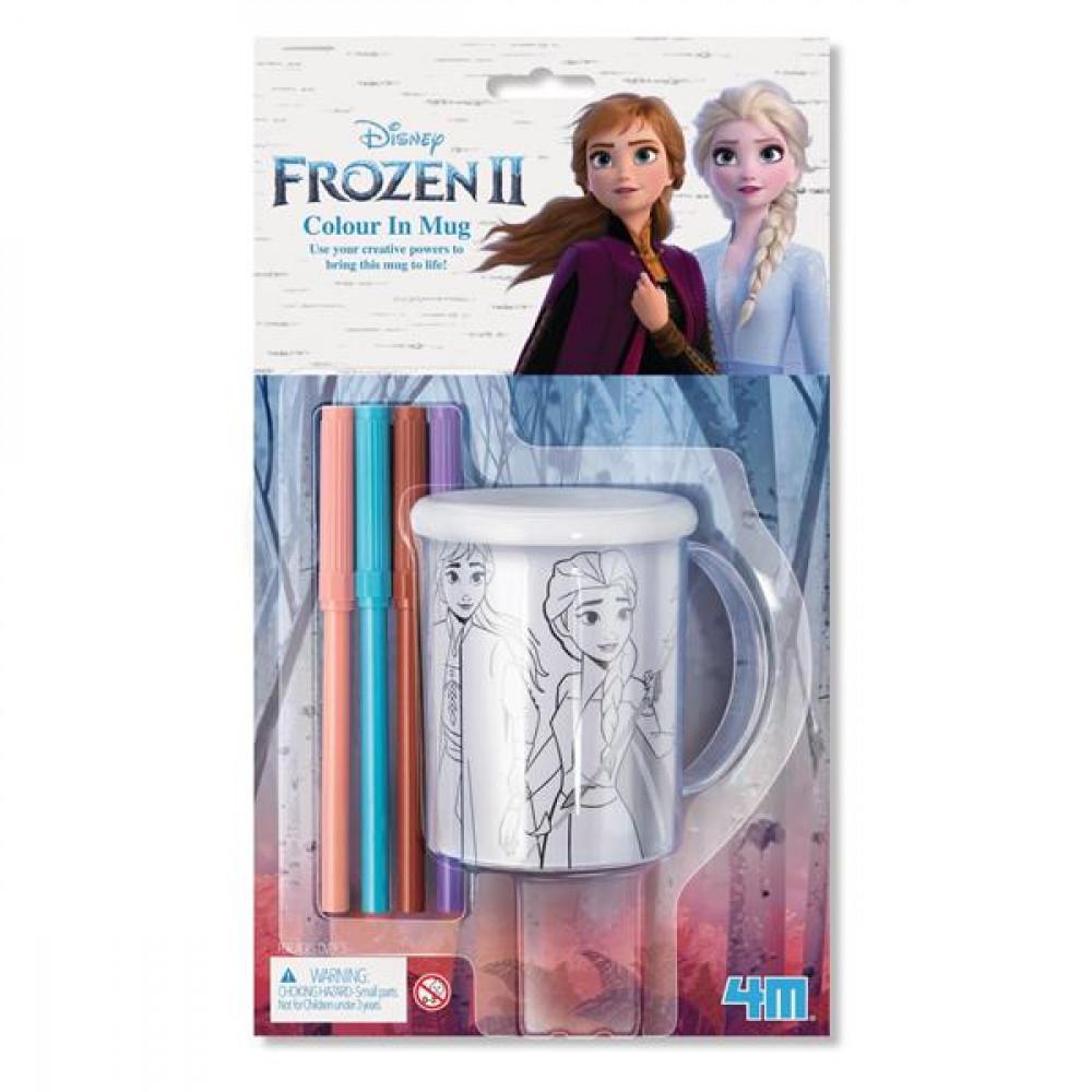 Набор для творчества 4M Disney Frozen 2 Холодное сердце 2 Раскрась чашку