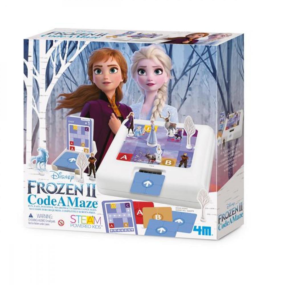 Набір для навчання дітей програмуванню 4M Disney Frozen 2 Холодне серце 2