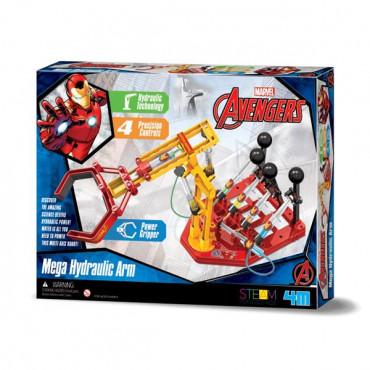 Научный набор 4M Disney Ironman Железный человек Гидравлическая мегарука