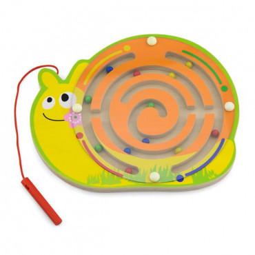 Магнитный лабиринт Viga Toys Улитка