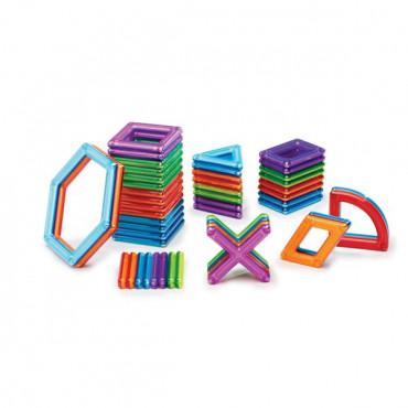 Магнітний конструктор Guidecraft PowerClix Frames, 48 деталей