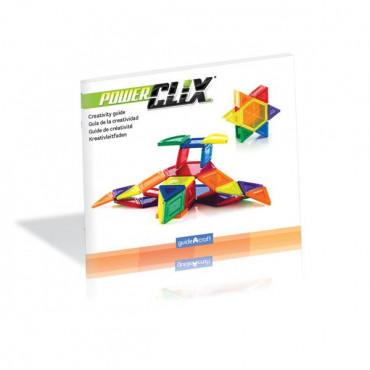 Магнітний конструктор Guidecraft PowerClix Solids, 44 деталі