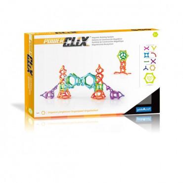 Магнитный конструктор Guidecraft PowerClix Organics, 100 деталей