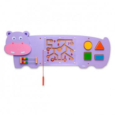Бизиборд Viga Toys Бегемотик R