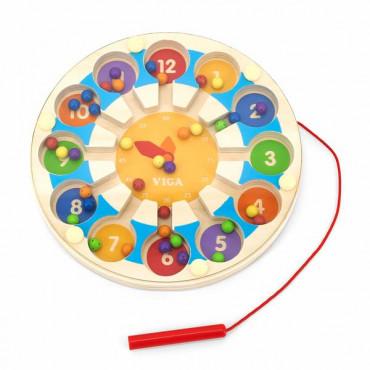 Магнитный лабиринт Viga Toys Часы R