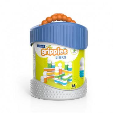 Магнитный конструктор Guidecraft Grippies Links, 16 деталей