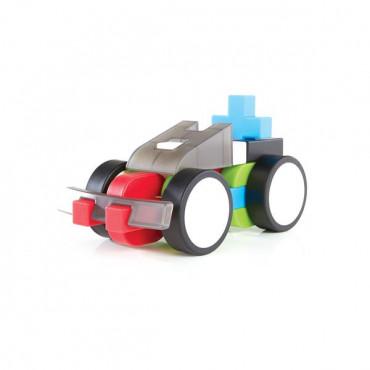 Конструктор Guidecraft IO Blocks Транспорт с дополненной 3d реальностью, 96 деталей