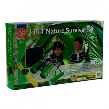 Набір натураліста Edu-Toys Комплект 3 в 1