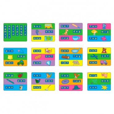Комплект обучающих шаблонов Gigo для набора английских букв