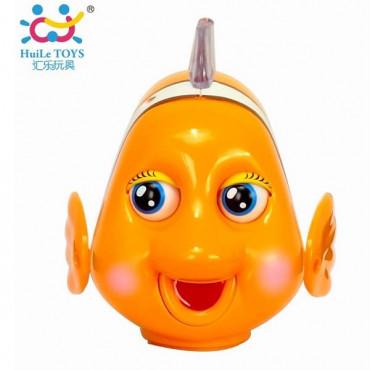 Музыкальная игрушка Huile Toys Рыбка-клоун