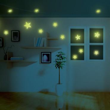 Набор светящихся наклеек 4M Мини-звезды, 60 шт.