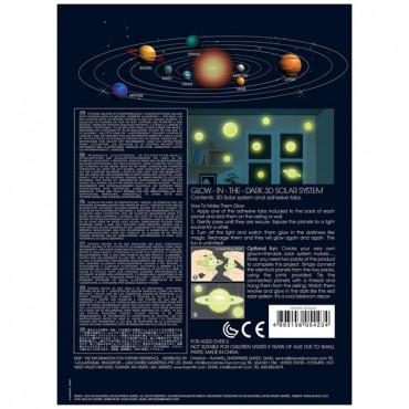 Набір світних 3D-наклейок 4M Сонячна система