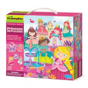 3D-пазл 4M Принцессы