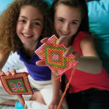 Набор для творчества 4M Вышивание крестиком