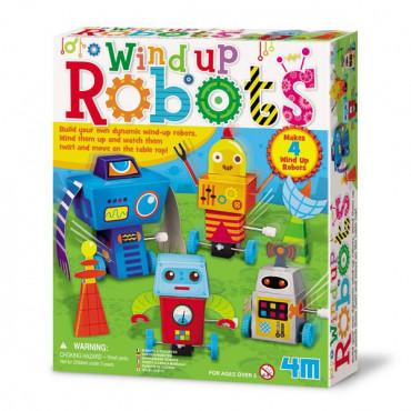 Игровой набор 4M Заводные роботы