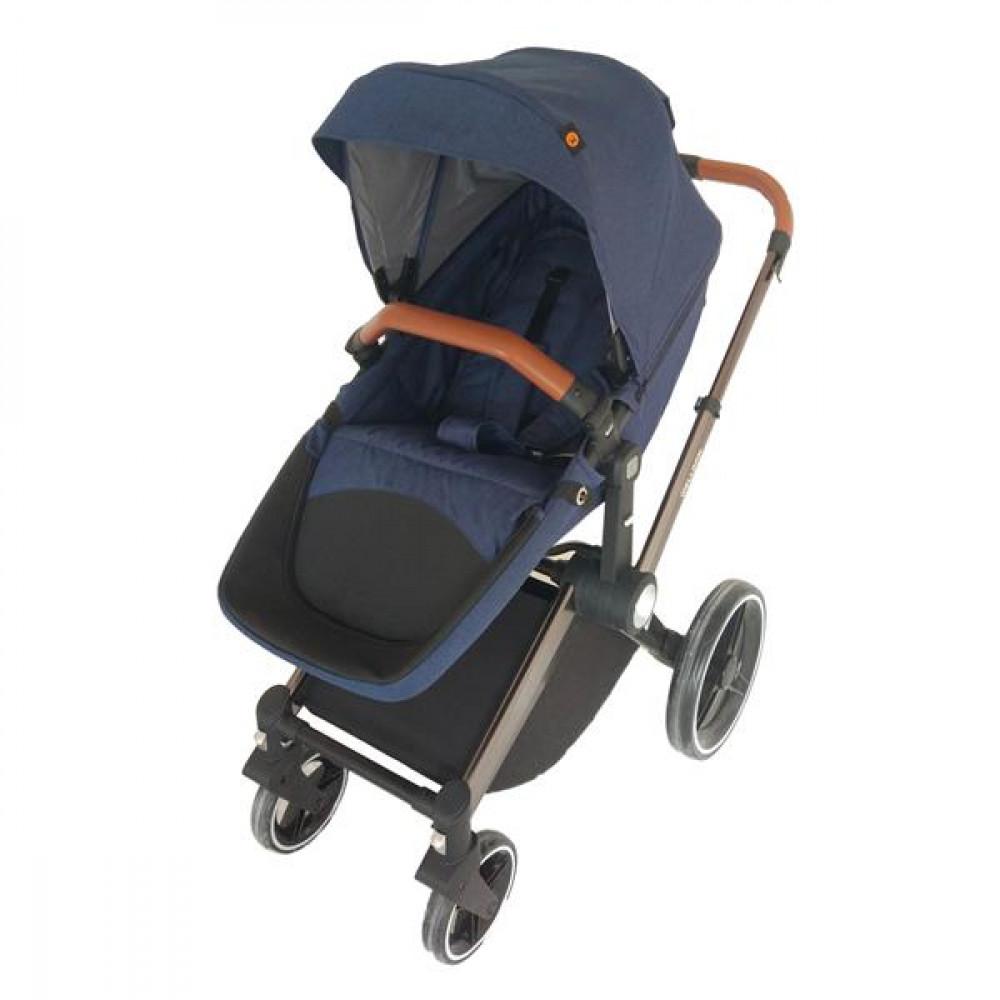 Детская коляска Welldon 2 в 1 (синий)