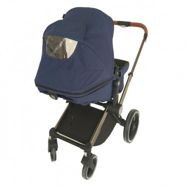 Дитяча коляска Welldon 2 в 1 (синій)