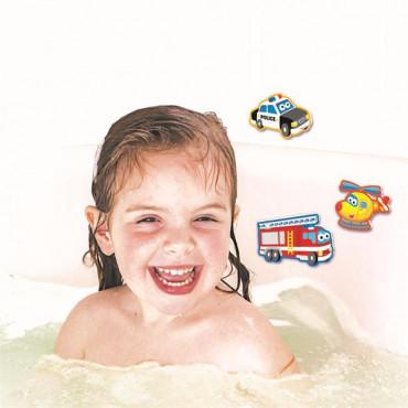 Набор наклеек для ванной 4M Транспорт