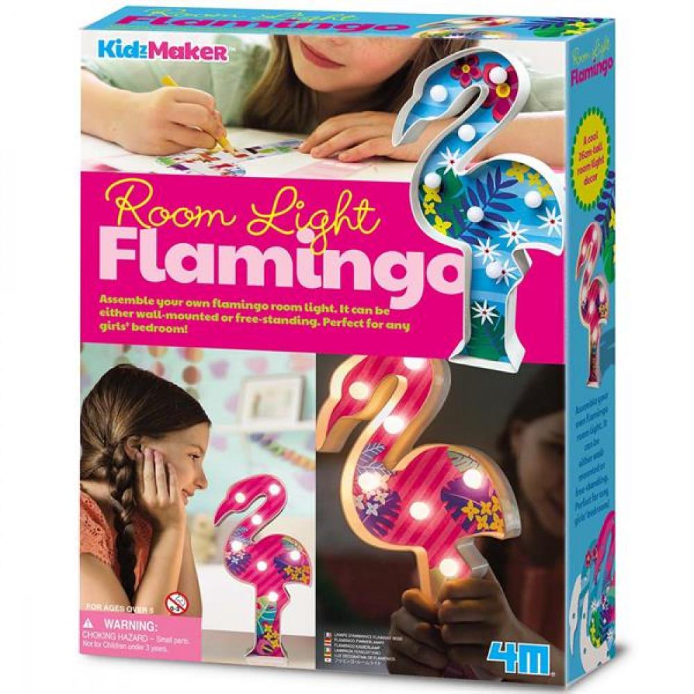 Набір для творчості 4M Підсвічування Фламінго