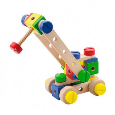 Деревянный конструктор Viga Toys 53 эл.