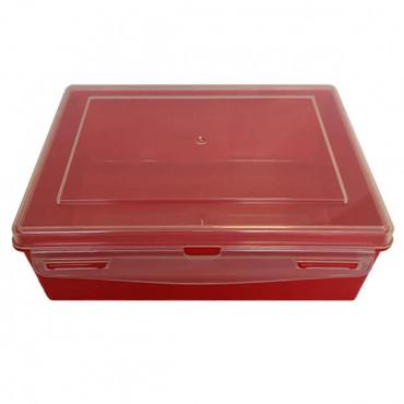 Контейнер пластиковий Gigo (червоний)