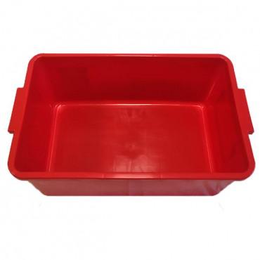 Контейнер пластиковий великий Gigo (червоний)