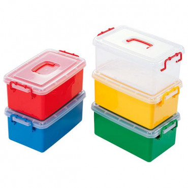 Контейнер пластиковый большой Gigo (красный)