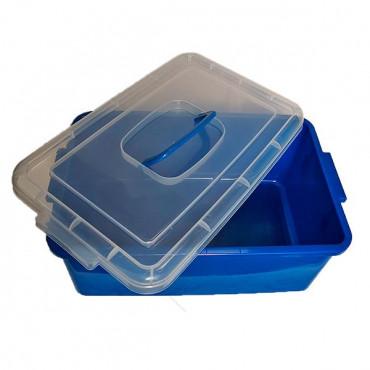 Контейнер пластиковый большой Gigo (синий)