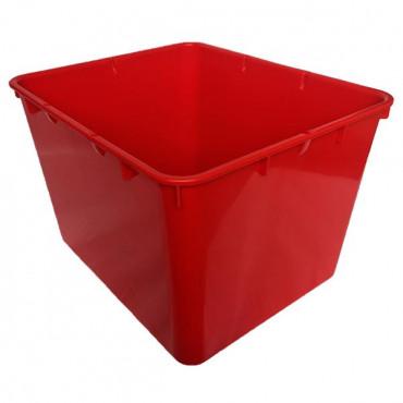 Контейнер пластиковый открытый Gigo (красный)