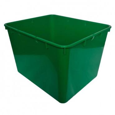 Контейнер пластиковый открытый Gigo (зеленый)